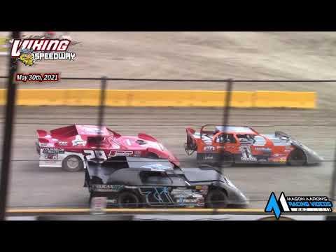 Viking Speedway WISSOTA Super Stock A-Main (5/29/21)* - dirt track racing video image