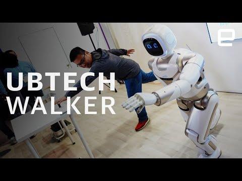 Ubtech Walker hands-on at CES 2020 - UC-6OW5aJYBFM33zXQlBKPNA