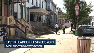 Scene: Boy fatally shot on East Philadelphia Street in York