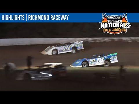DIRTcar Summer Nationals Late Models Richmond Raceway July 25, 2021 | HIGHLIGHTS - dirt track racing video image
