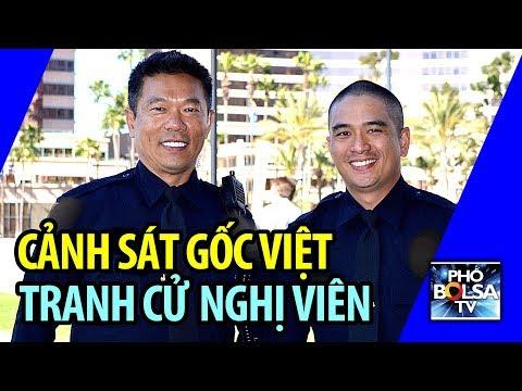 Cảnh sát gốc Việt ứng cử nghị viên: Trên 20 năm chưa hề phải nổ súng