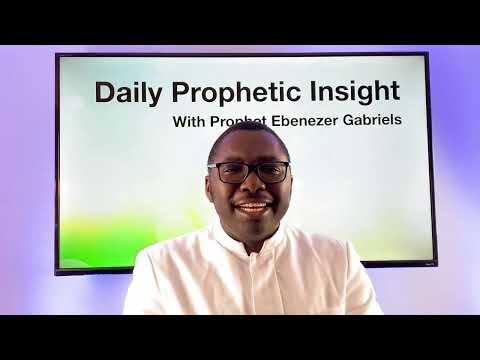 Prophetic Insight Jan 22nd, 2021