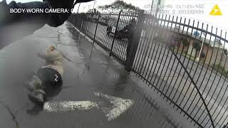 Vallejo releases footage of officer shooting man with knife in January