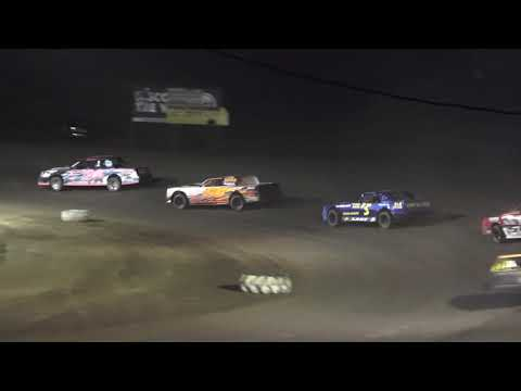 Hobby Stock A-Feature at Mount Pleasant Speedway, Michigan on 09-18-2020! - dirt track racing video image