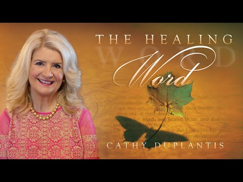 The Healing Word Book  Cathy Duplantis