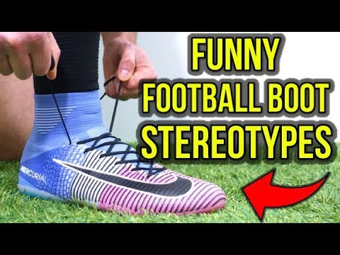 WHAT YOUR FOOTBALL BOOTS SAY ABOUT YOU - FUNNY FOOTBALL BOOT STEREOTYPES - UCUU3lMXc6iDrQw4eZen8COQ