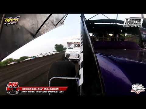 101 Chuck McGillivray | Rapid Speedway | 7-20-21 - dirt track racing video image