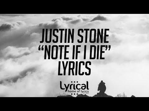 Justin Stone - Note If I Die (Prod. Josh Petruccio) Lyrics - UCnQ9vhG-1cBieeqnyuZO-eQ