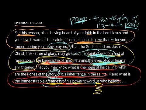 Ephesians 1:1516 // Part 1 // How to Transform Theology into Praise
