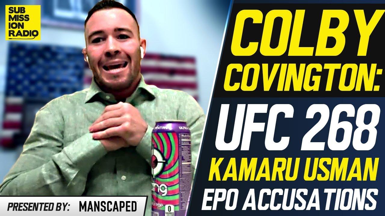 UFC 268: Colby Covington BLASTS Kamaru Usman Ahead of Rematch, Makes Bold EPO Accusations
