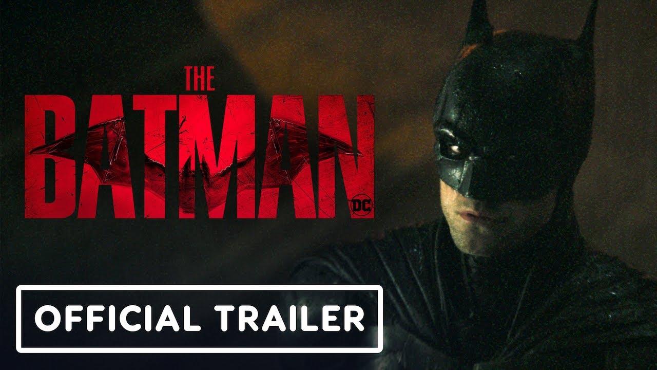 The Batman – Official Trailer #2 (2022) Robert Pattinson, Zoe Kravitz | DC FanDome 2021