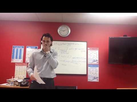 OTP English Lesson - Richard - Second Conditional Worksheet Feedback III