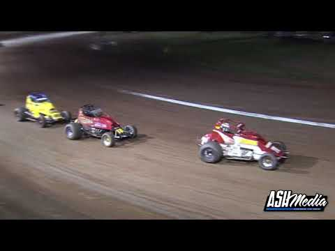 Wingless Sprints: A-Main - Maryborough Speedway - 22.04.2011 - dirt track racing video image