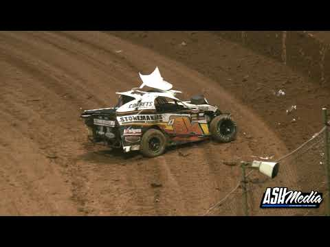 Modlites: Carnage in the Feature Race! - Archerfield Speedway - dirt track racing video image