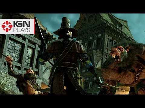 Fighting a Rat Ogre in Warhammer: End Times - Vermintide - UCKy1dAqELo0zrOtPkf0eTMw
