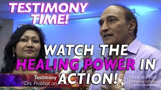 POWERFUL TESTIMONY!  WATCH THE HEALING POWER IN ACTION!/ Prophet Ed Citronnelli