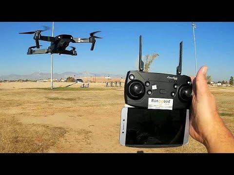 Eachine E58 720P Folding FPV Camera Drone Flight Test Review - UC90A4JdsSoFm1Okfu0DHTuQ