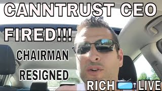 Canntrust CEO Terminated