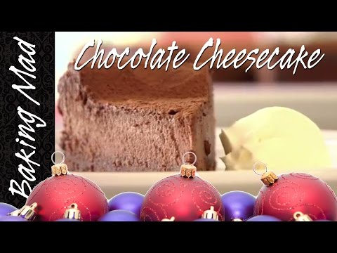 Chocolate Cheesecake - 12 Bakes Of Christmas Bake 3!