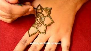 Watch Simple Easy Mehndi Design For Hands For Eid 2018