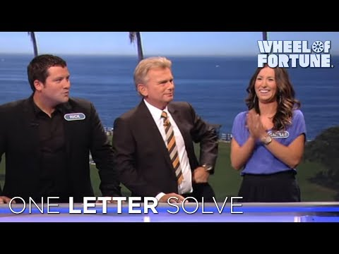 Wheel of Fortune: Amazing One-Letter Solve! - default