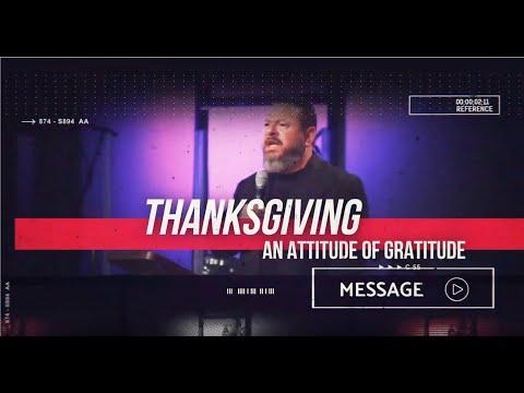 November 23rd - DestinyYUMA - Thanksgiving: An Attitude of Gratitude