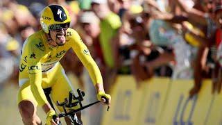 Tour de France : Alaphilippe, toujours en jaune, remporte le contre-la-montre