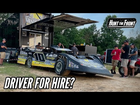 Surprise Race! Joseph Drives for Henderson Motorsports at Hattiesburg Speedway - dirt track racing video image
