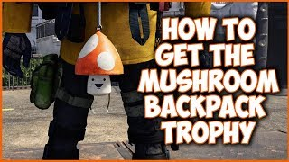 HOW TO GET THE BACKPACK MUSHROOM TROPHY IN THE DIVISION 2