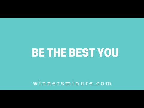 Be the Best You // The Winner's Minute With Mac Hammond
