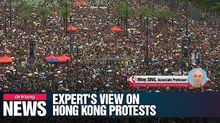 Expert's view of Hong Kong protests