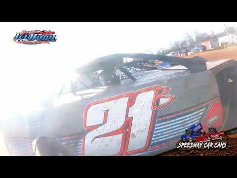 #21B Blake Swann - Open Wheel - Ice Bowl 2021 - Talladega Short Track - In-Car Camera - dirt track racing video image