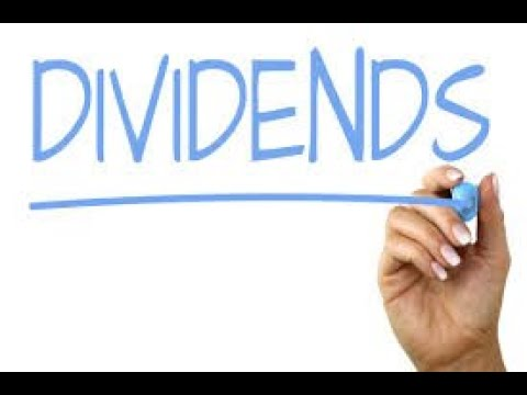 Lesson Two: Dividends