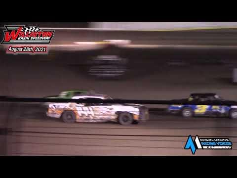Williston Basin Speedway IMCA Hobby Stock A-Main (8/28/21) - dirt track racing video image