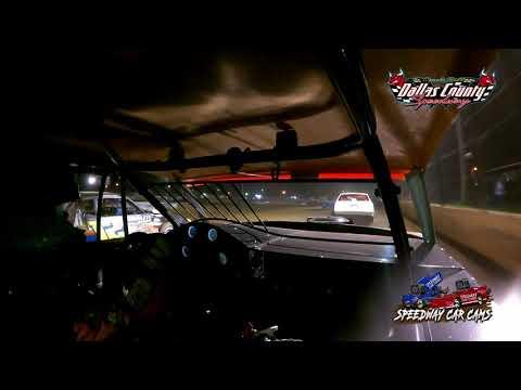 #54 David Hendrix - Usra Stock Car - 8-20-2021 Dallas County Speedway - In Car Camera - dirt track racing video image