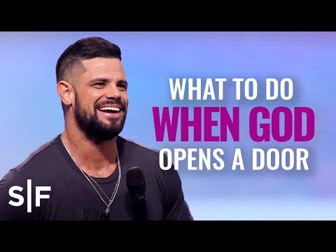What To Do When God Opens A Door  Steven Furtick