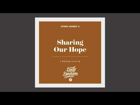 Sharing Our Hope - Daily Devotion