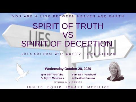 SPIRIT OF TRUTH VS SPIRIT OF DECEPTION
