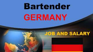 Bartender Salary in Germany - Jobs and Wages in Germany