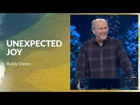 The Promise of Unexpected Joy with Buddy Owens