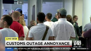 System outage stalls customs at U.S. airports
