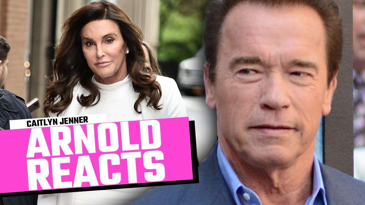 Arnold Schwarzenegger Reacts To Caitlyn Jenner Running For California Governor