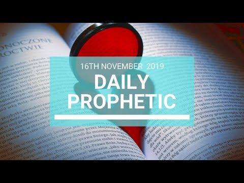 Daily Prophetic 16 November Word 7