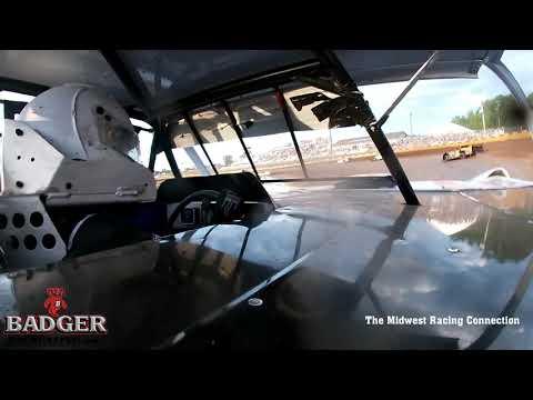Darrell Nelson Heat Race In Car - Cedar Lake Speedway 06/17/2021 - dirt track racing video image