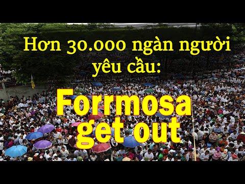 Hơn 30.000 giáo dân tuần hành phản đối Formosa (P2)
