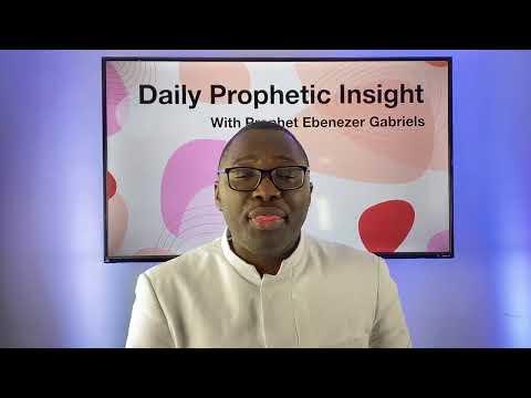 Prophetic Insights - Jan 3rd, 2020