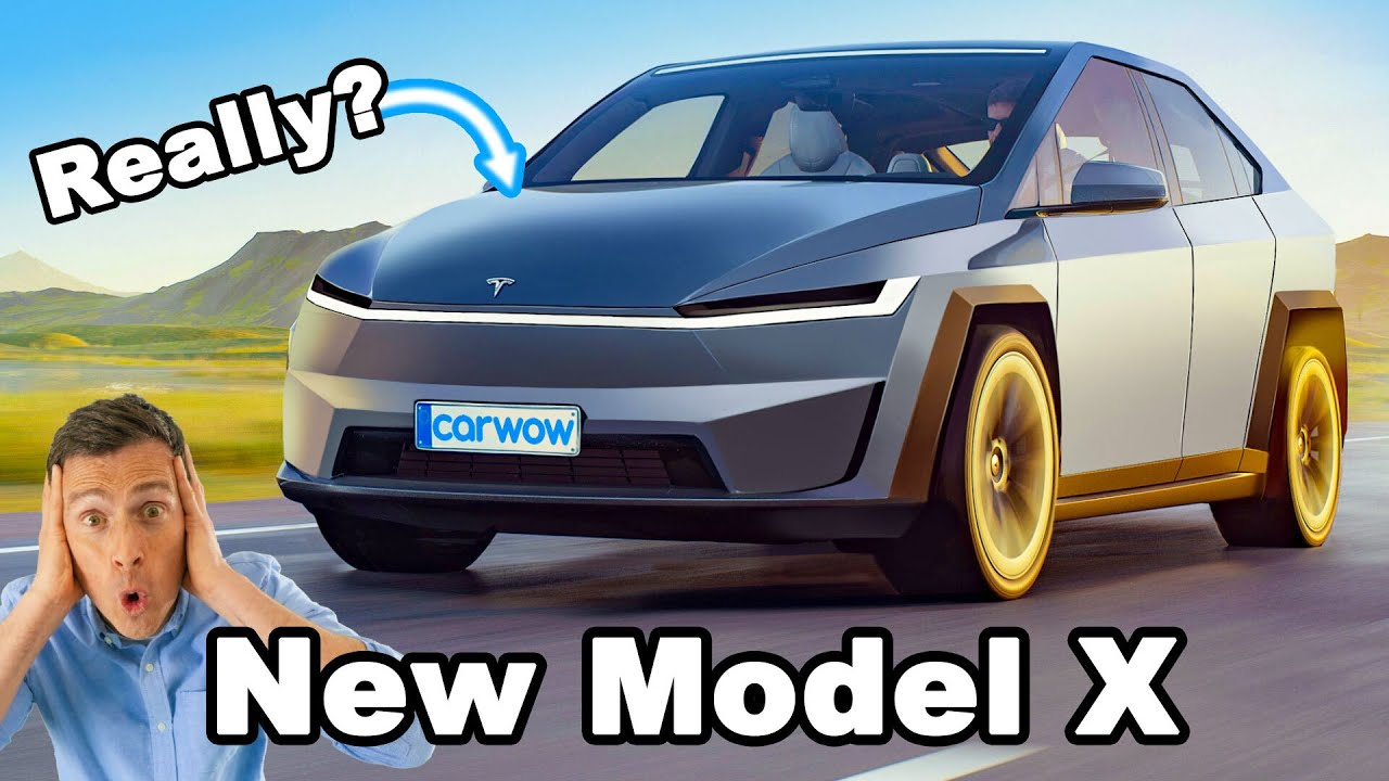 New Tesla Model X – will it be a mini Cybertruck?