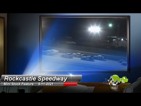 Rockcastle Speedway - Mini-Stock Feature - 9/11/2021 - dirt track racing video image