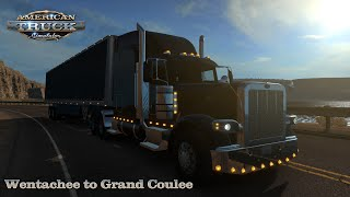 American Truck Simulator 1.35 - Peterbilt 389 - Wenatchee (WA) to Grand Coulee (WA)