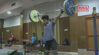 ASIAN WEIGHTLIFTING CHAMPIONSHIP  LALRINNUNGA CREATES NEW YOUTH WORLD RECORD